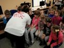Kilometry w szkołach w Siedliskach i Hureczku
